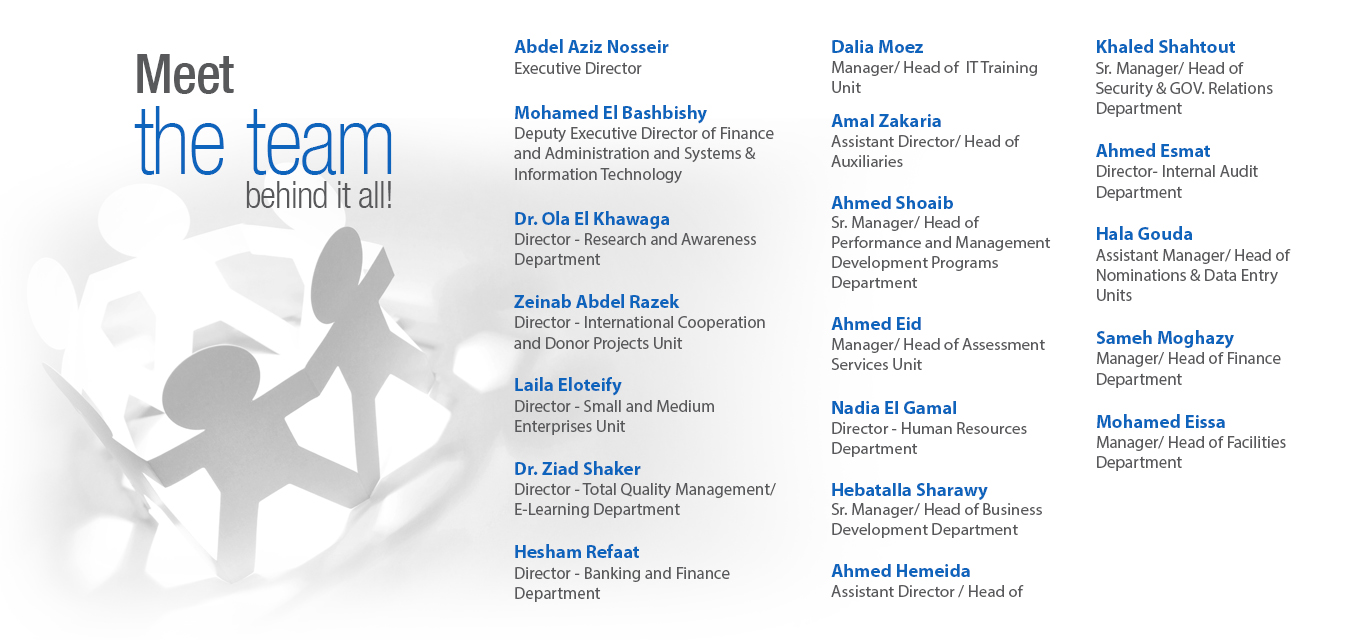 Egyptian Banking Institute | Management Team